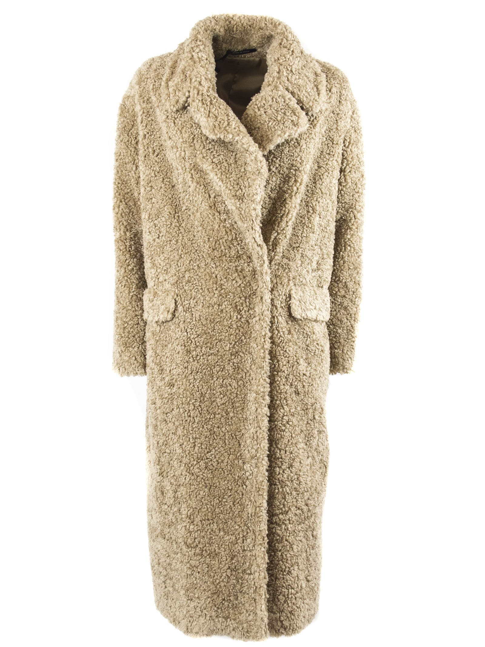 Tagliatore Cathy Faux-shearling Coat