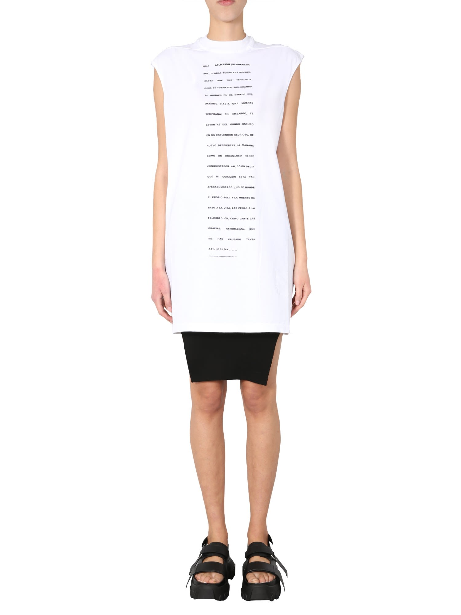 Buy DRKSHDW Round Neck Dress online, shop DRKSHDW with free shipping