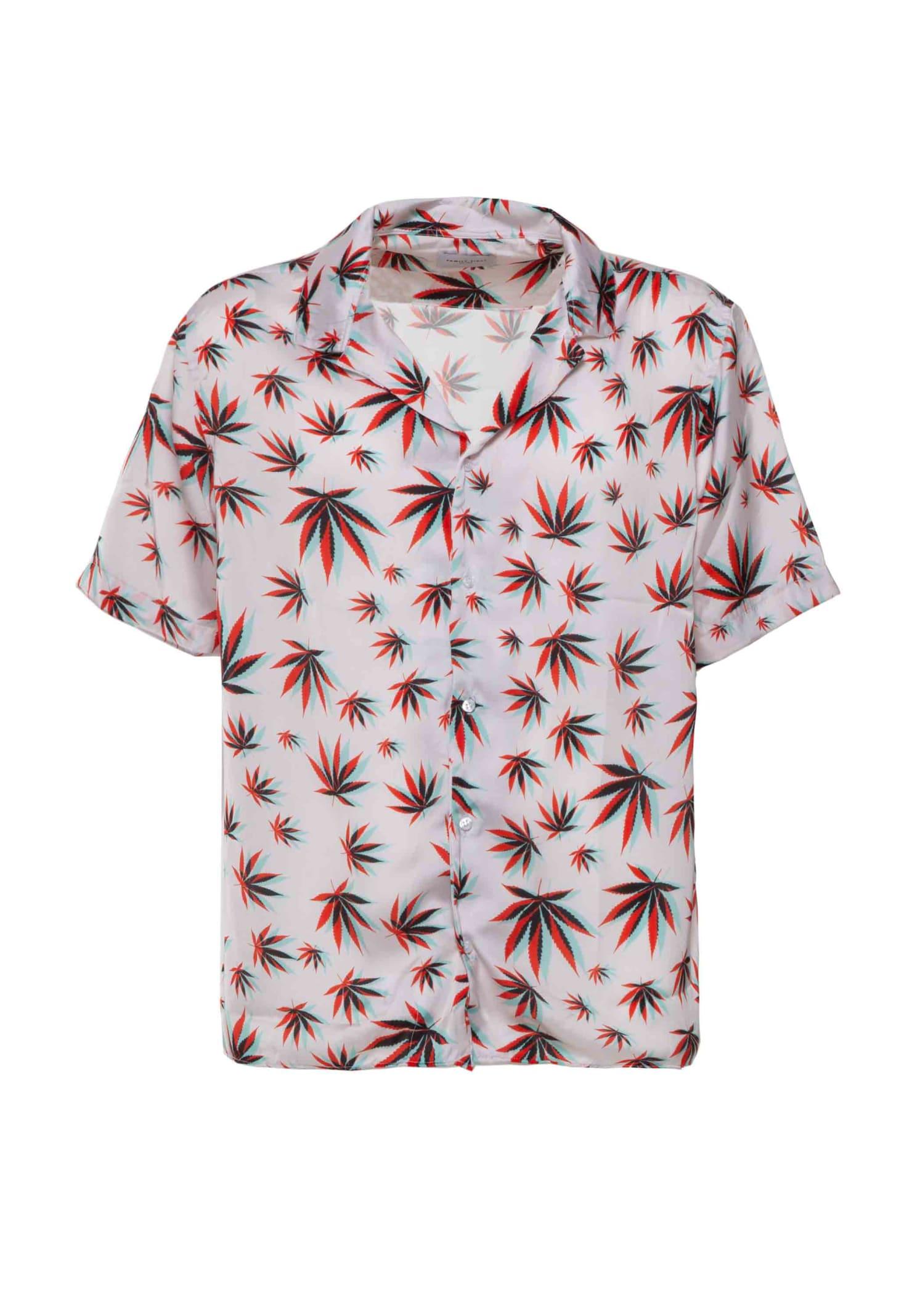 Shirt Cannabis 3d Pink