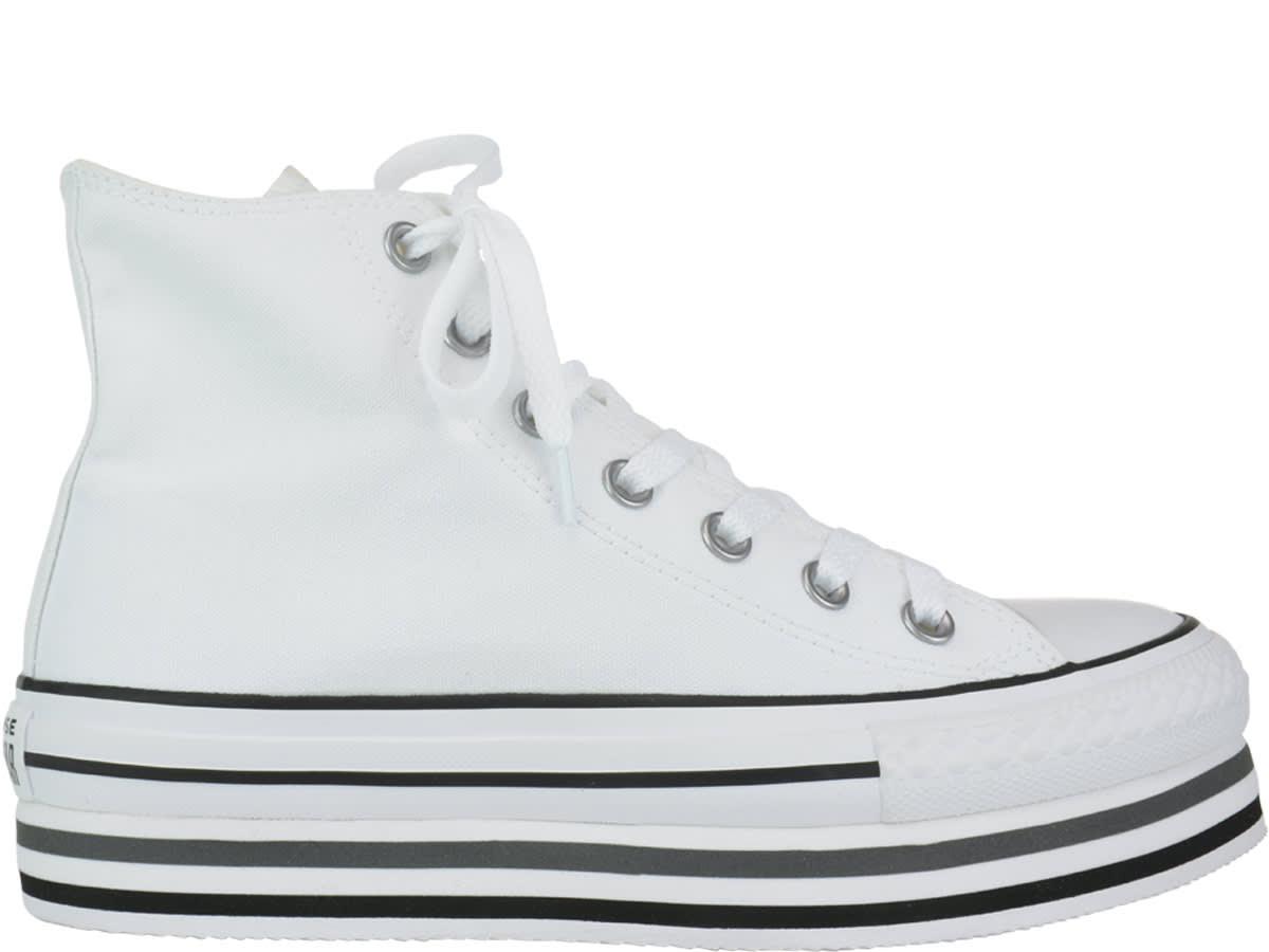 5a9a8ac7 Converse Converse Chuck Taylor All Star Platform Layer Sneakers ...