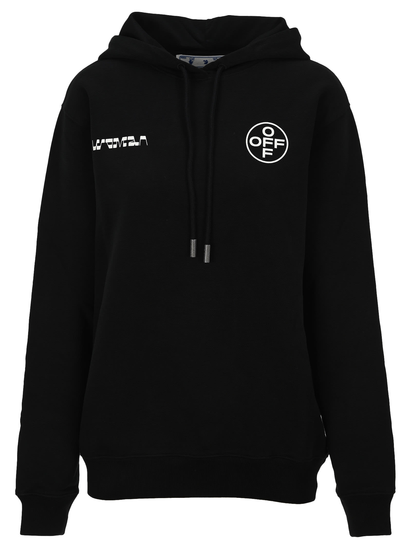 Off-White OFF WHITE LOGO PAINTING HOODIE