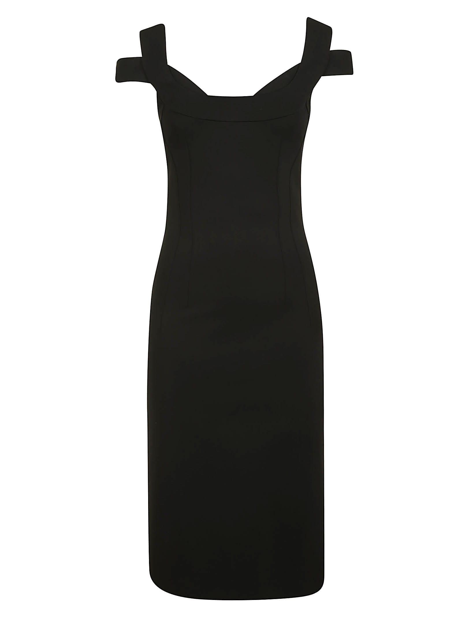 Buy Dolce & Gabbana Rear Zip Dress online, shop Dolce & Gabbana with free shipping