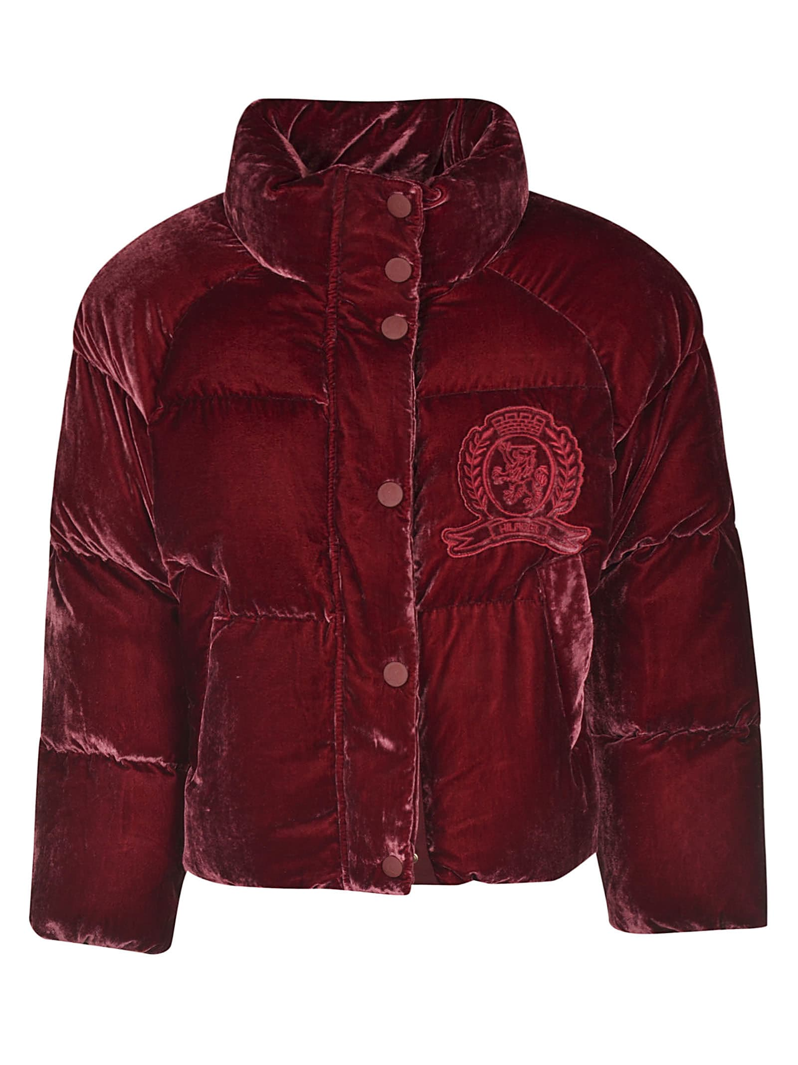 Tommy Hilfiger Embroidered Padded Jacket