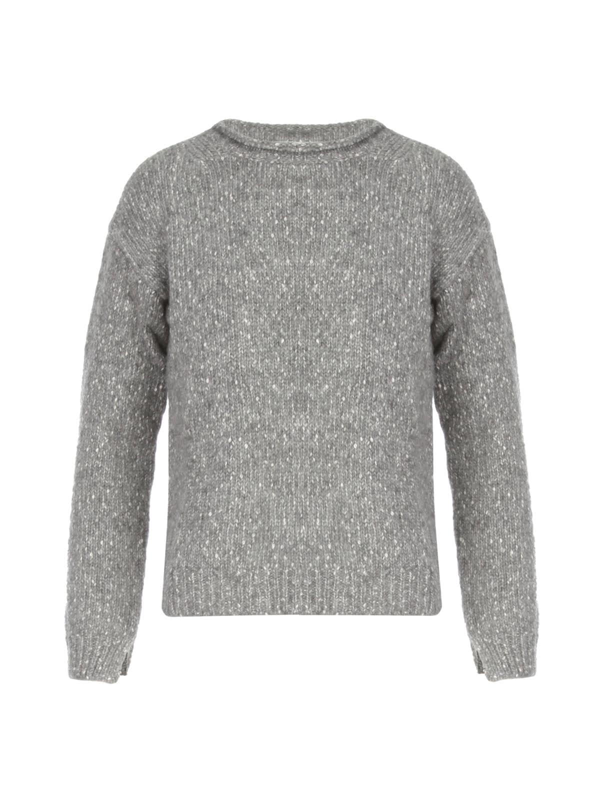 Crew Neck Sweater W/pokcet
