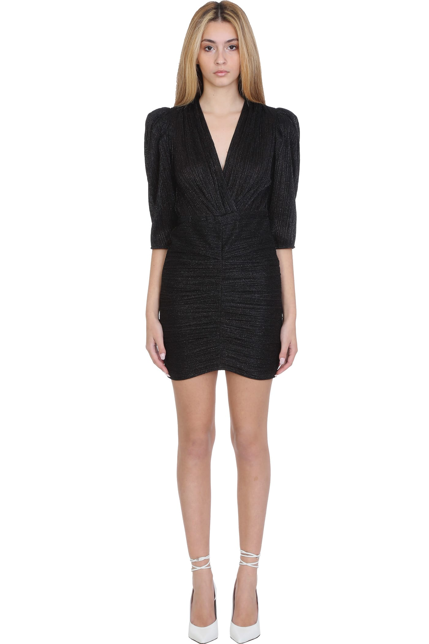Buy IRO Cluzco Dress In Black Nylon online, shop IRO with free shipping