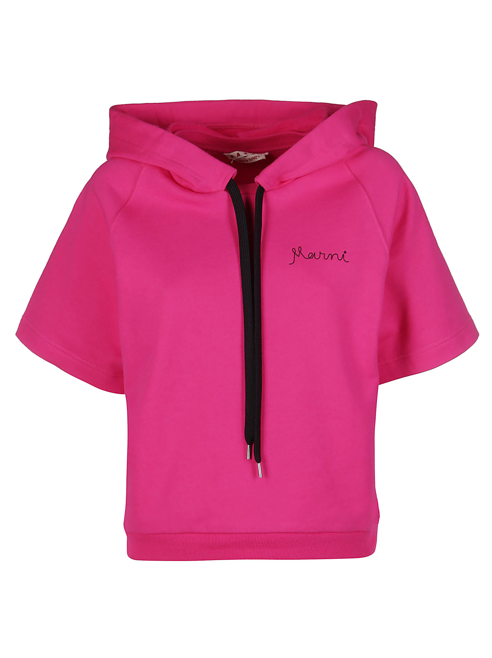 Marni FUCHSIA COTTON SWEATSHIRT
