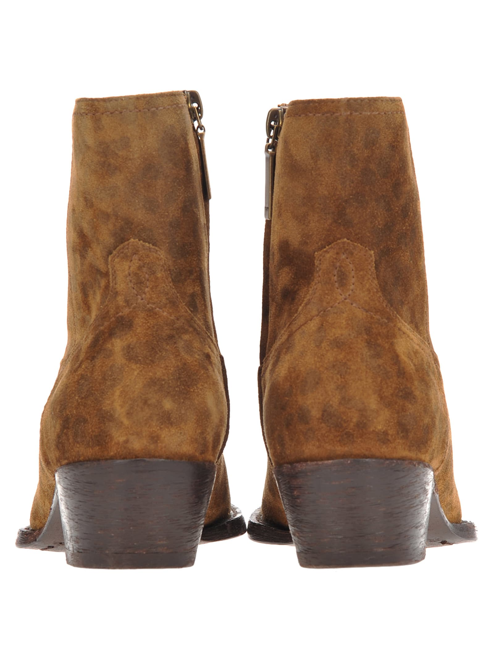 e994ca1b6f8 Saint Laurent Saint Laurent Saint Laurent Lukas Western Boots - LAND ...