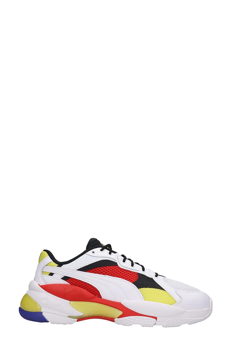 Puma Sneakers LQD CELL EPSILO SNEAKERS IN WHITE TECH/SYNTHETIC