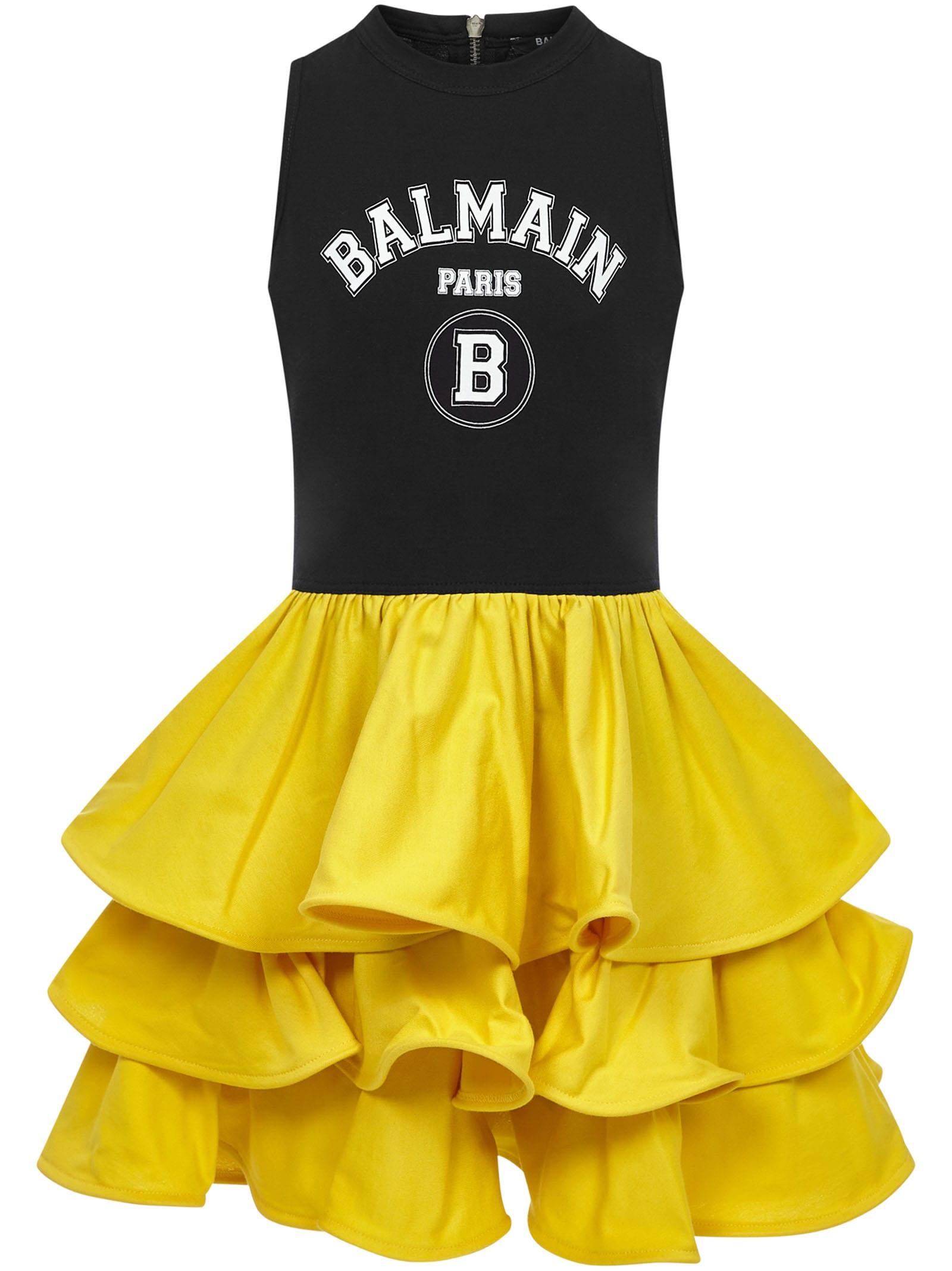 Balmain Cottons PARIS KIDS DRESS