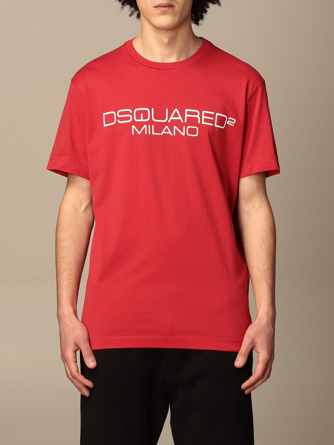 Dsquared2 Clothing COTTON T-SHIRT WITH LOGO