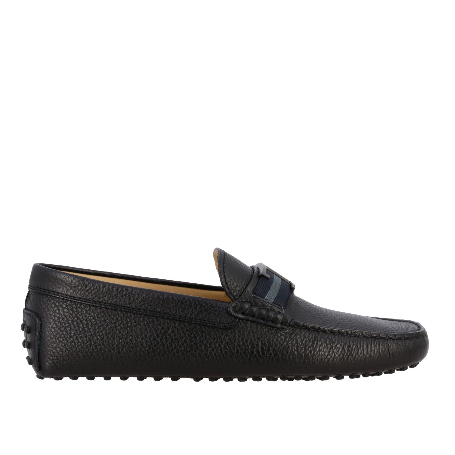 Tods Loafers Tods Gommini Moccasin In Leather With Double T