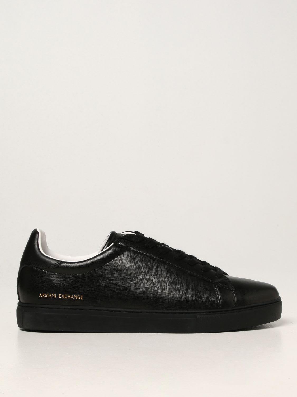 Armani Exchange Sneakers Armani Exchange Sneakers In Saffiano Leather