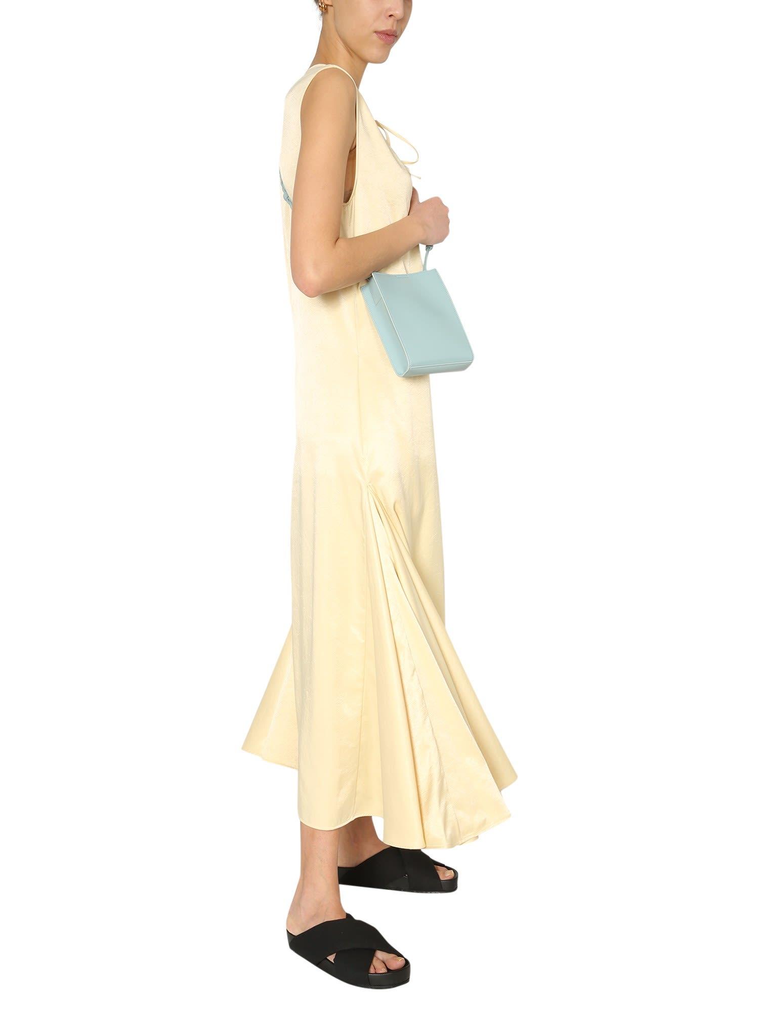 Buy Jil Sander Sleeveless Dress online, shop Jil Sander with free shipping