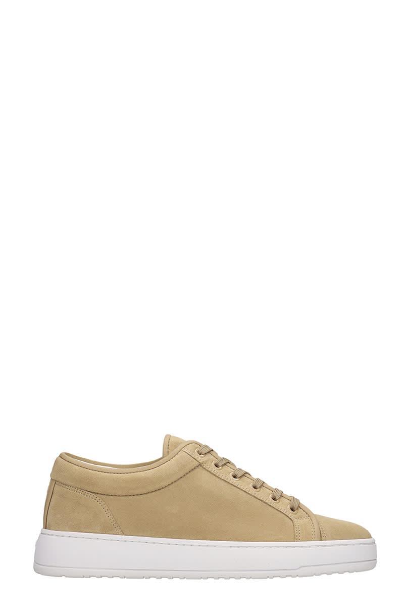 Etq Lt 01 Sneakers In Beige Suede