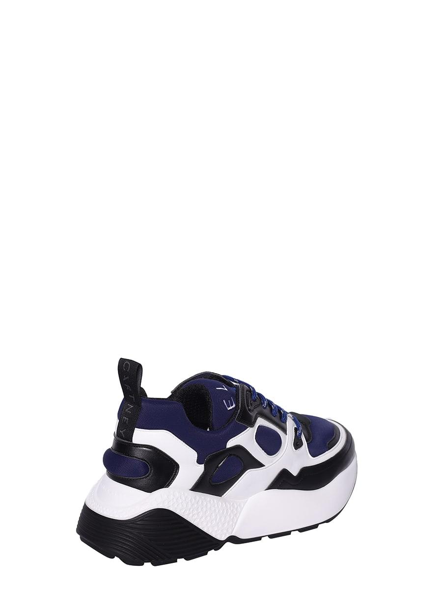 STELLA MCCARTNEY Leathers Stella McCartney Classic Color Block Sneakers