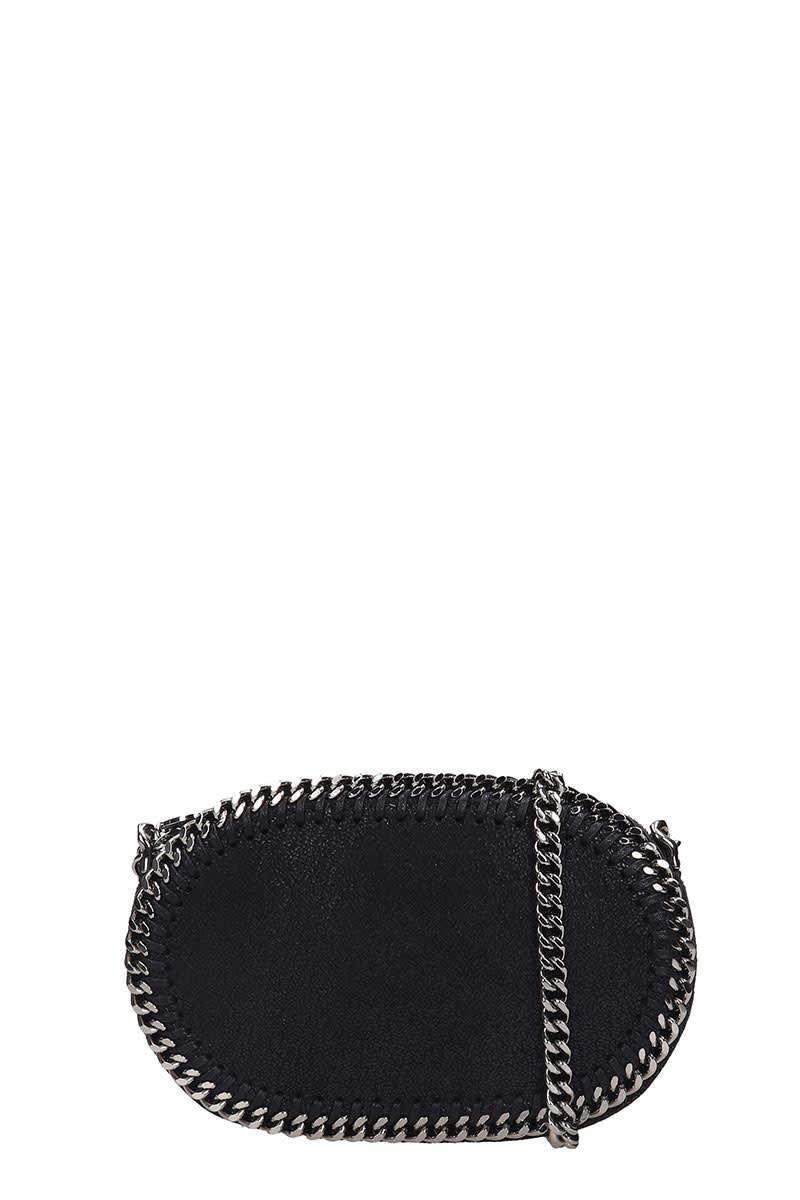 Falabella Shoulder Bag In Black Faux Leather