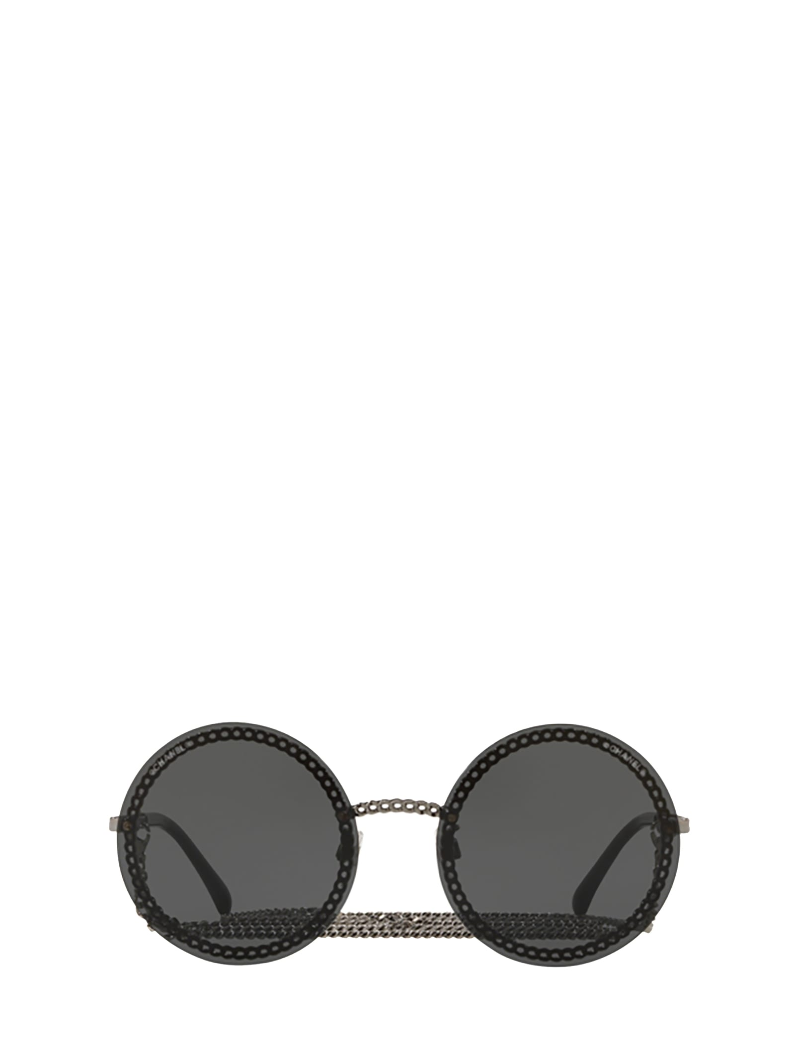 Chanel Chanel Ch4245 Gunmetal Sunglasses