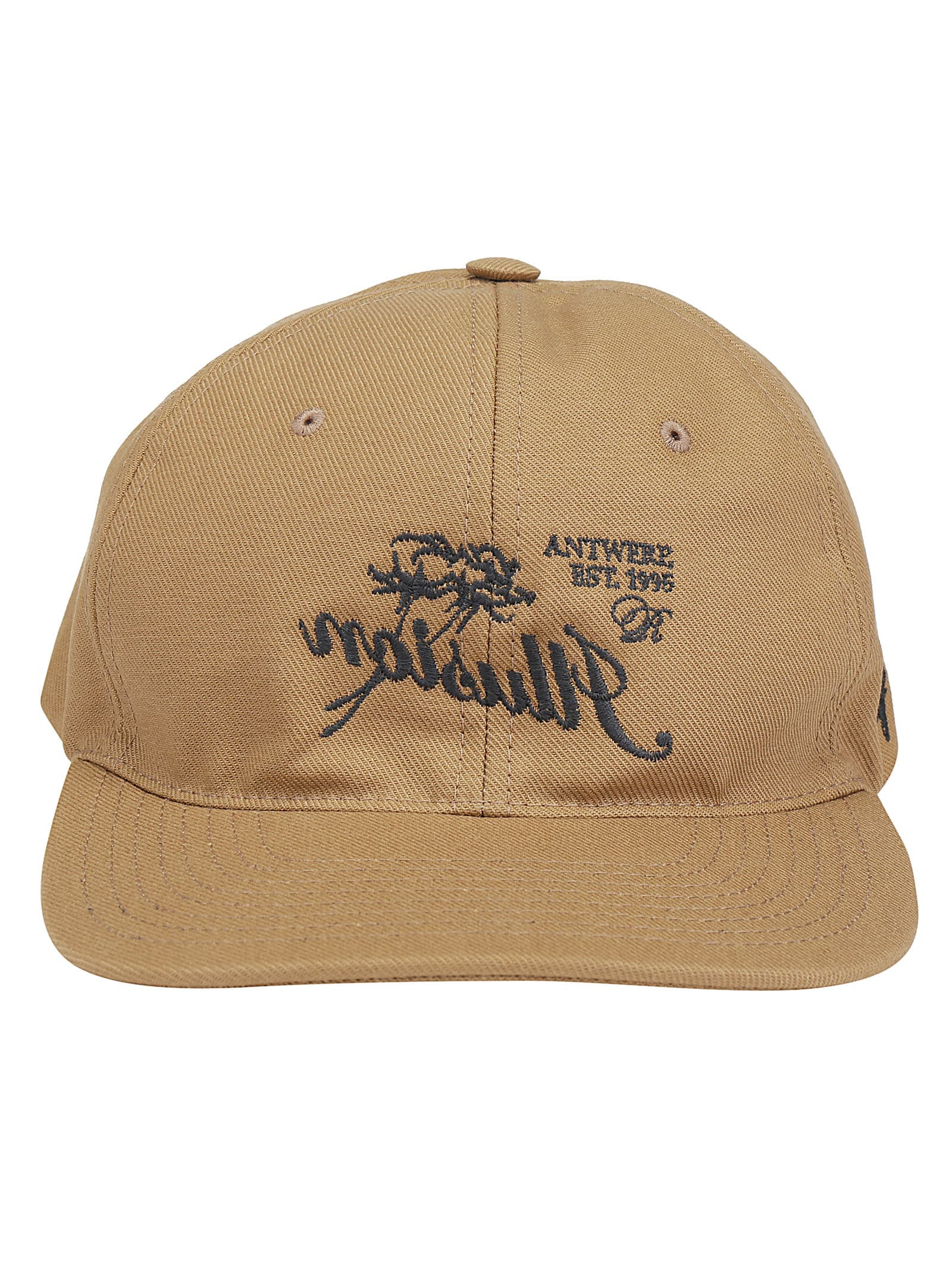 Raf Simons Baseball Hat In Camel