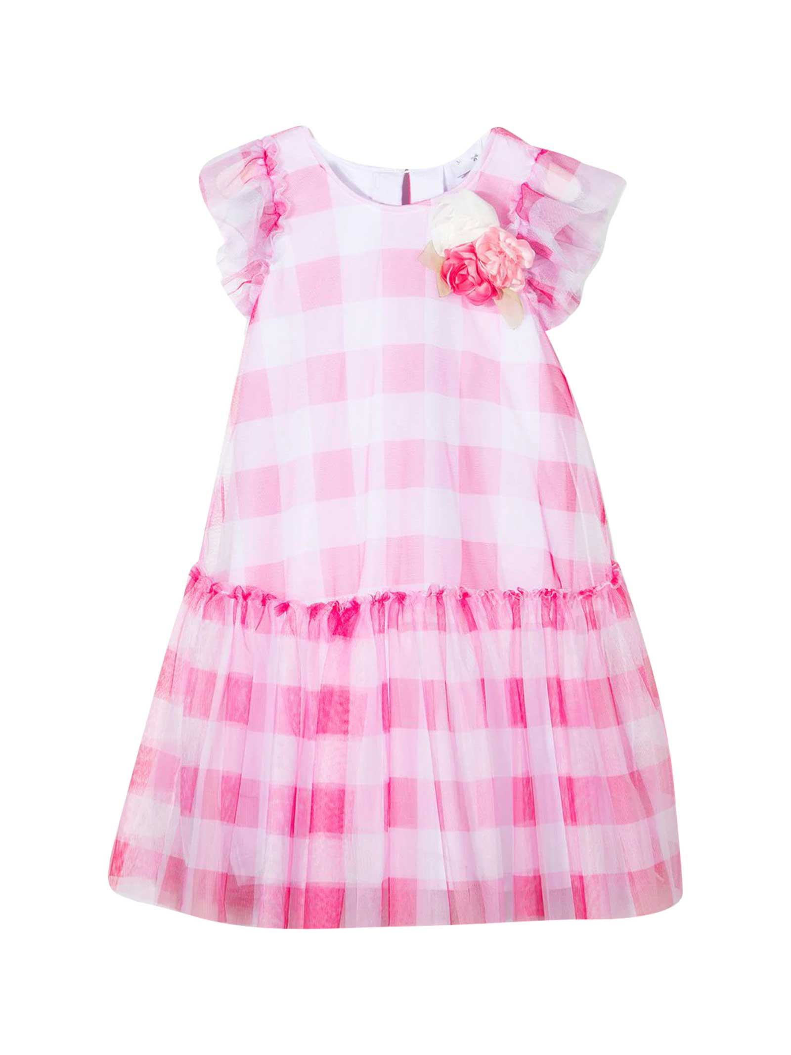 Monnalisa Cottons PINK DRESS
