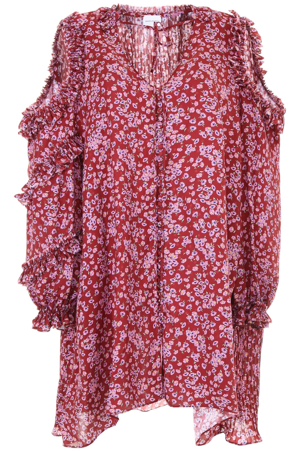 Buy Magda Butrym Printed Zagreb Dress online, shop Magda Butrym with free shipping