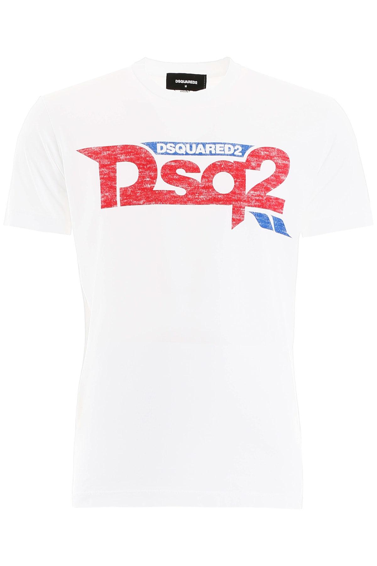 Dsquared2 New Logo Print T-shirt