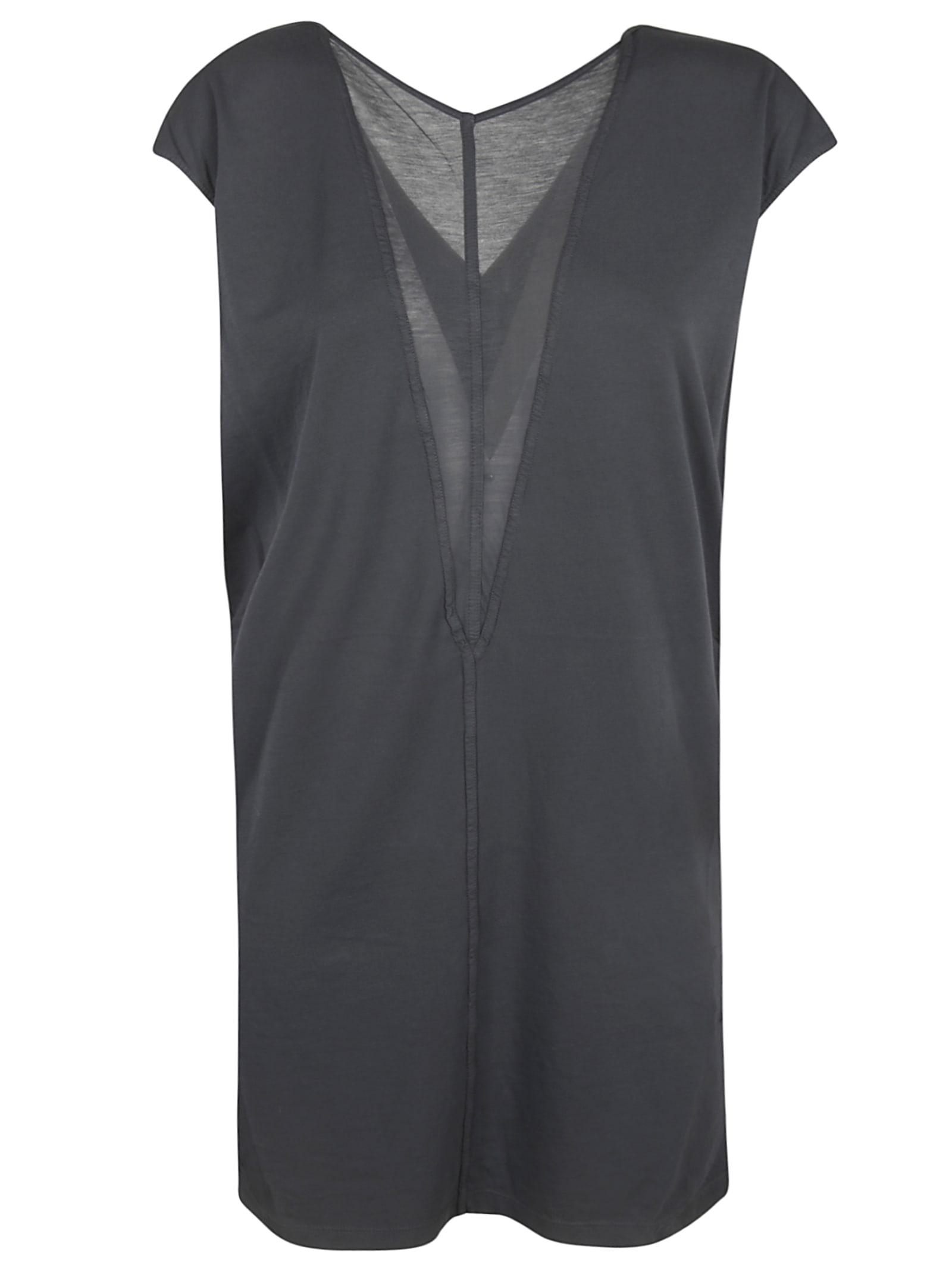 DRKSHDW Sleeveless V-neck Dress