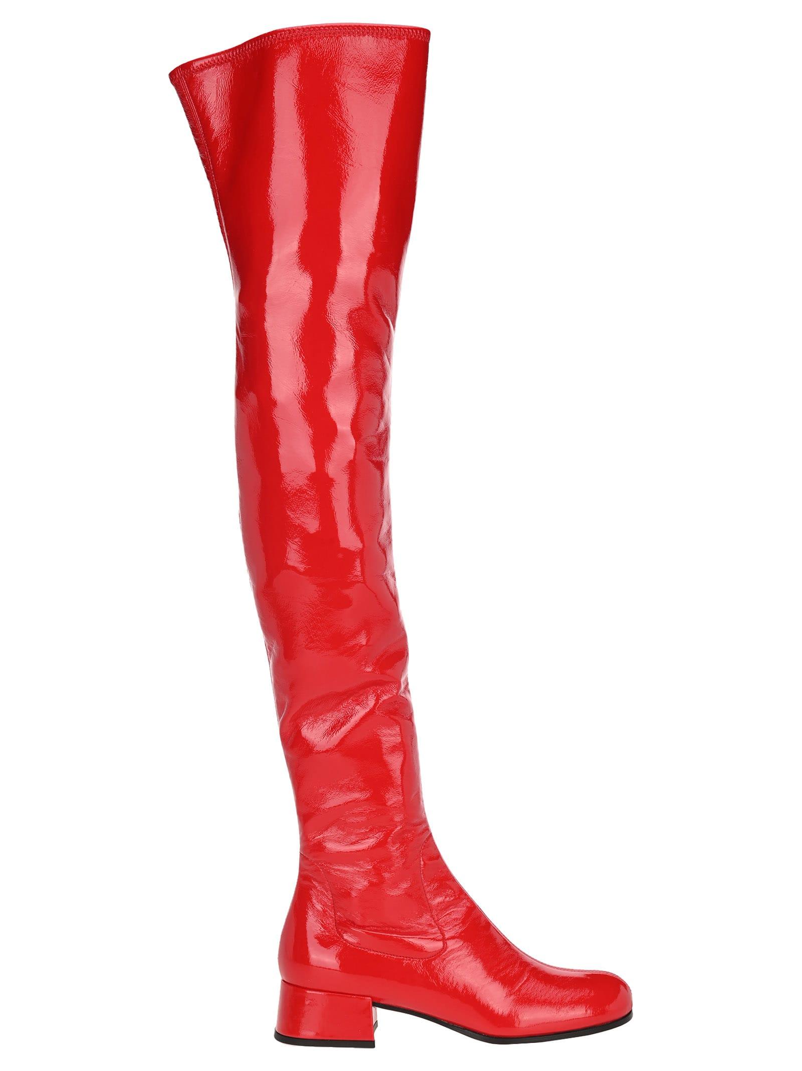 Prada Thigh High Boots