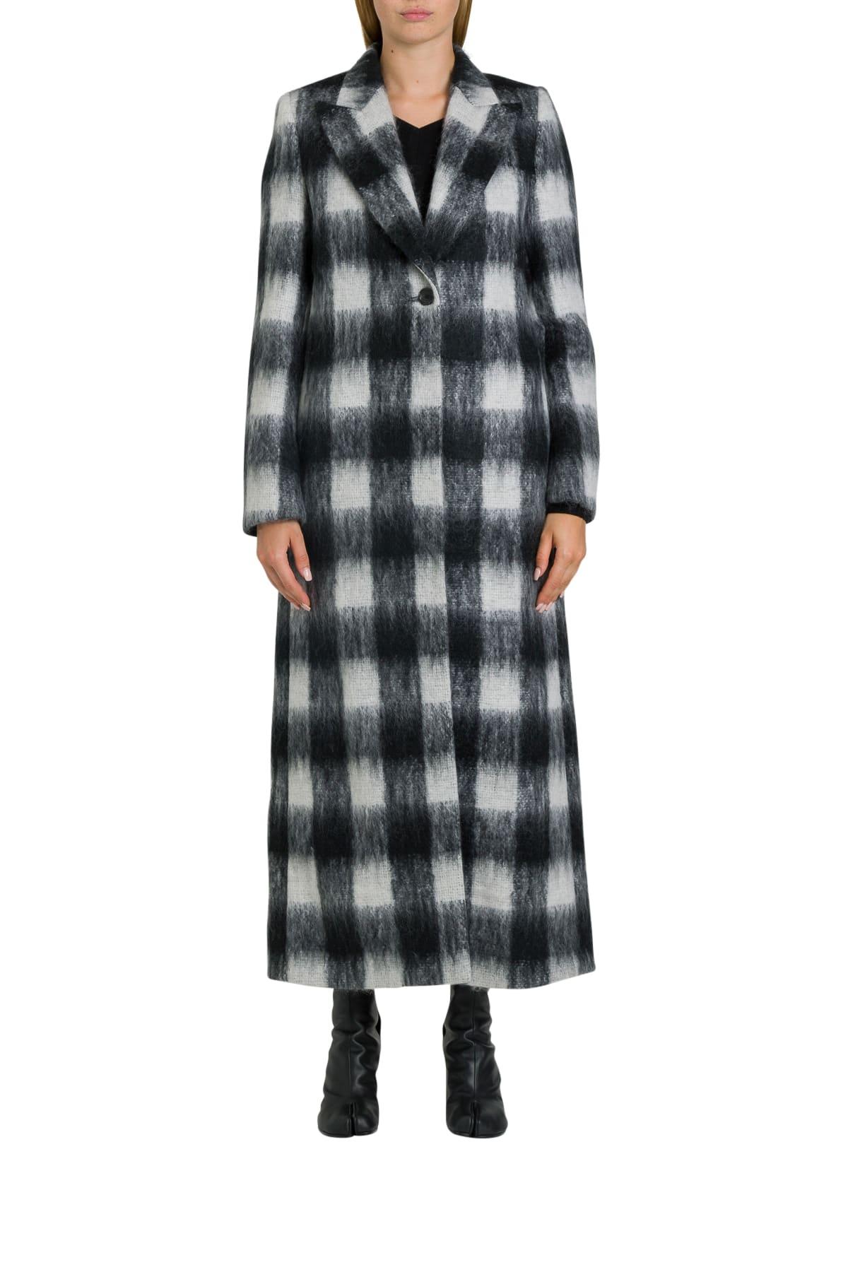 Maison Margiela Check Coat