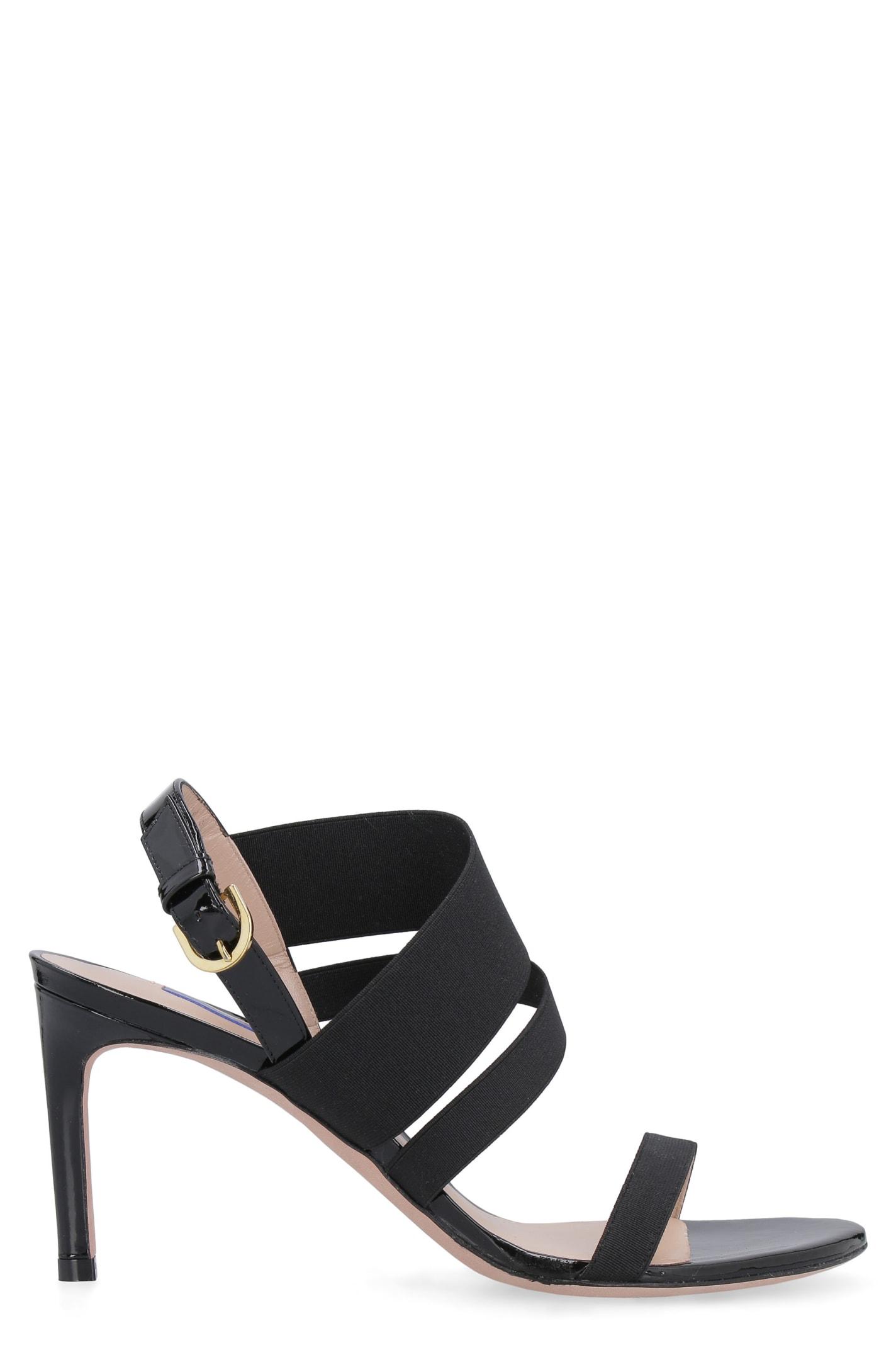 Buy Stuart Weitzman Adrienne Heel Sandals online, shop Stuart Weitzman shoes with free shipping