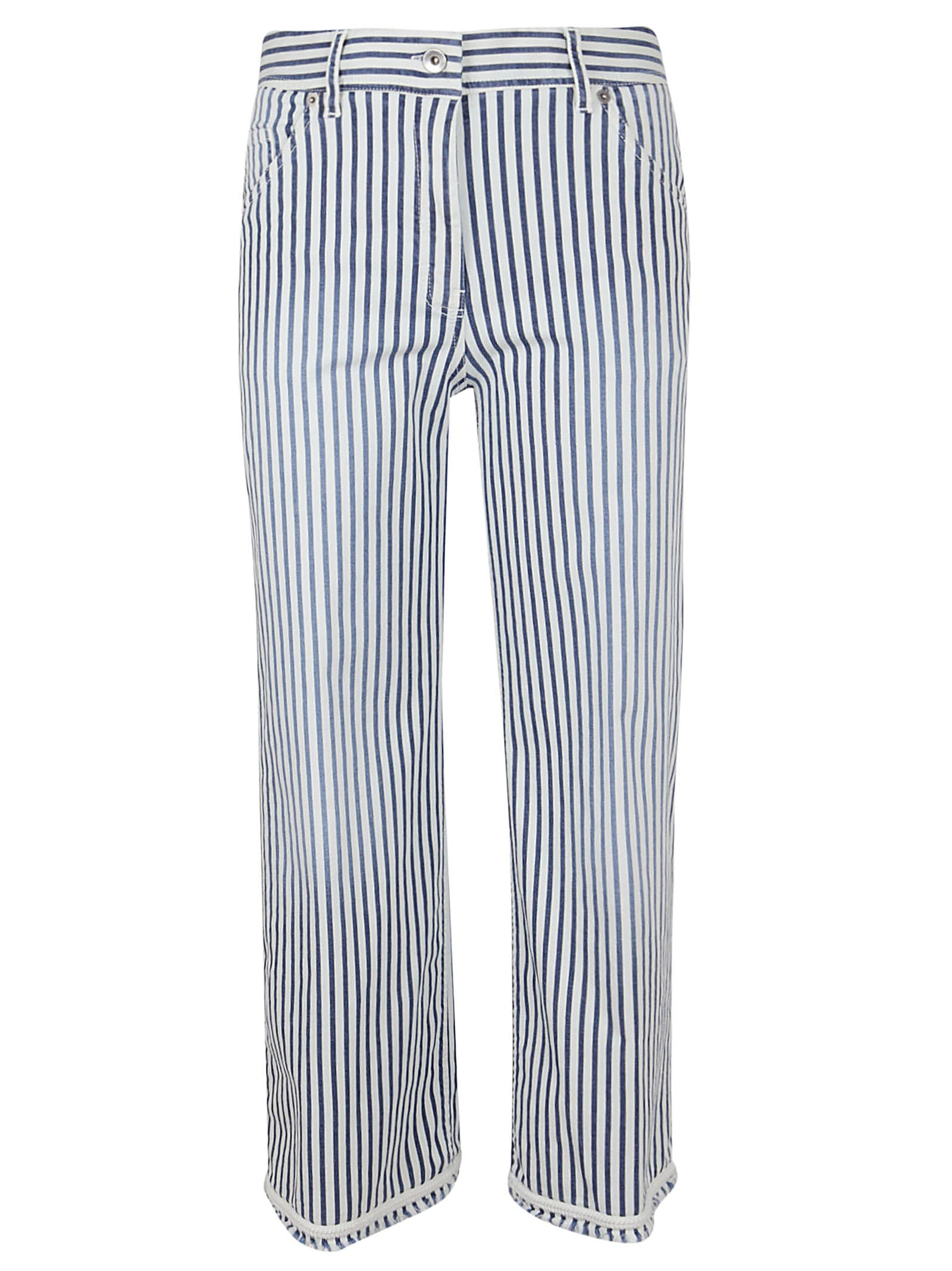 True Royal WASHED RIVIERA STRIPE PANTS