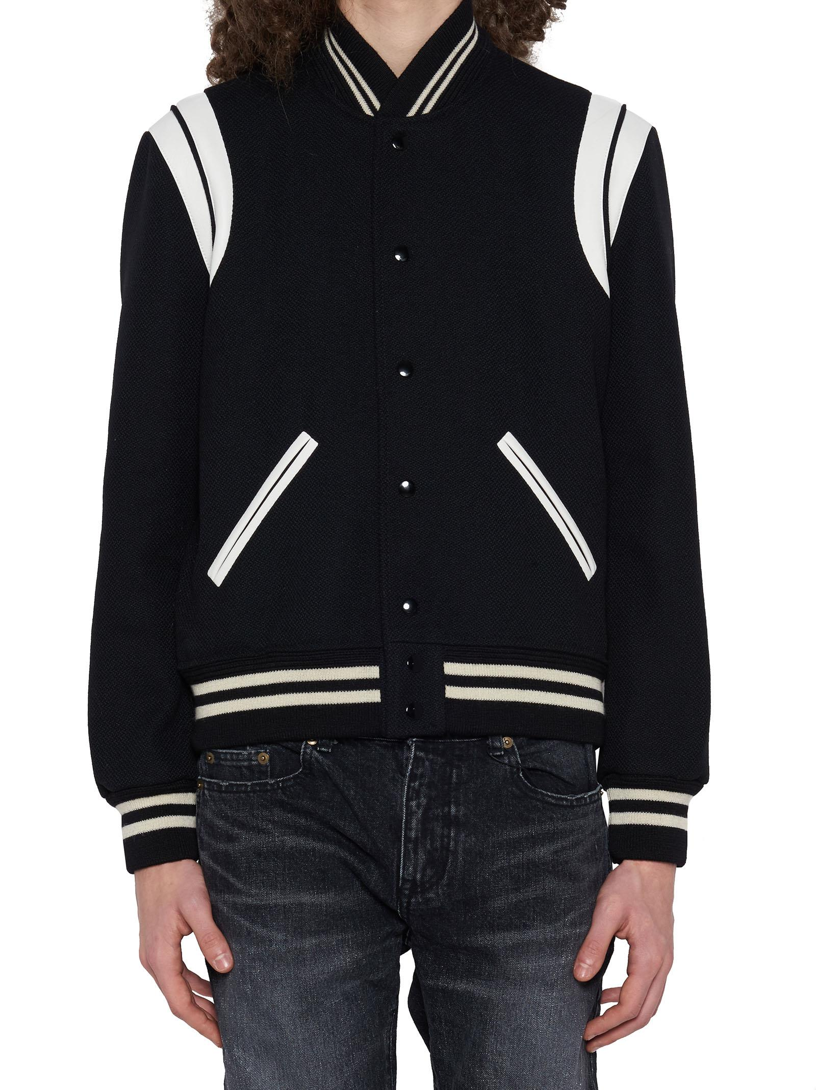 9cbe5a07e72 Saint Laurent Jacket In Black | ModeSens