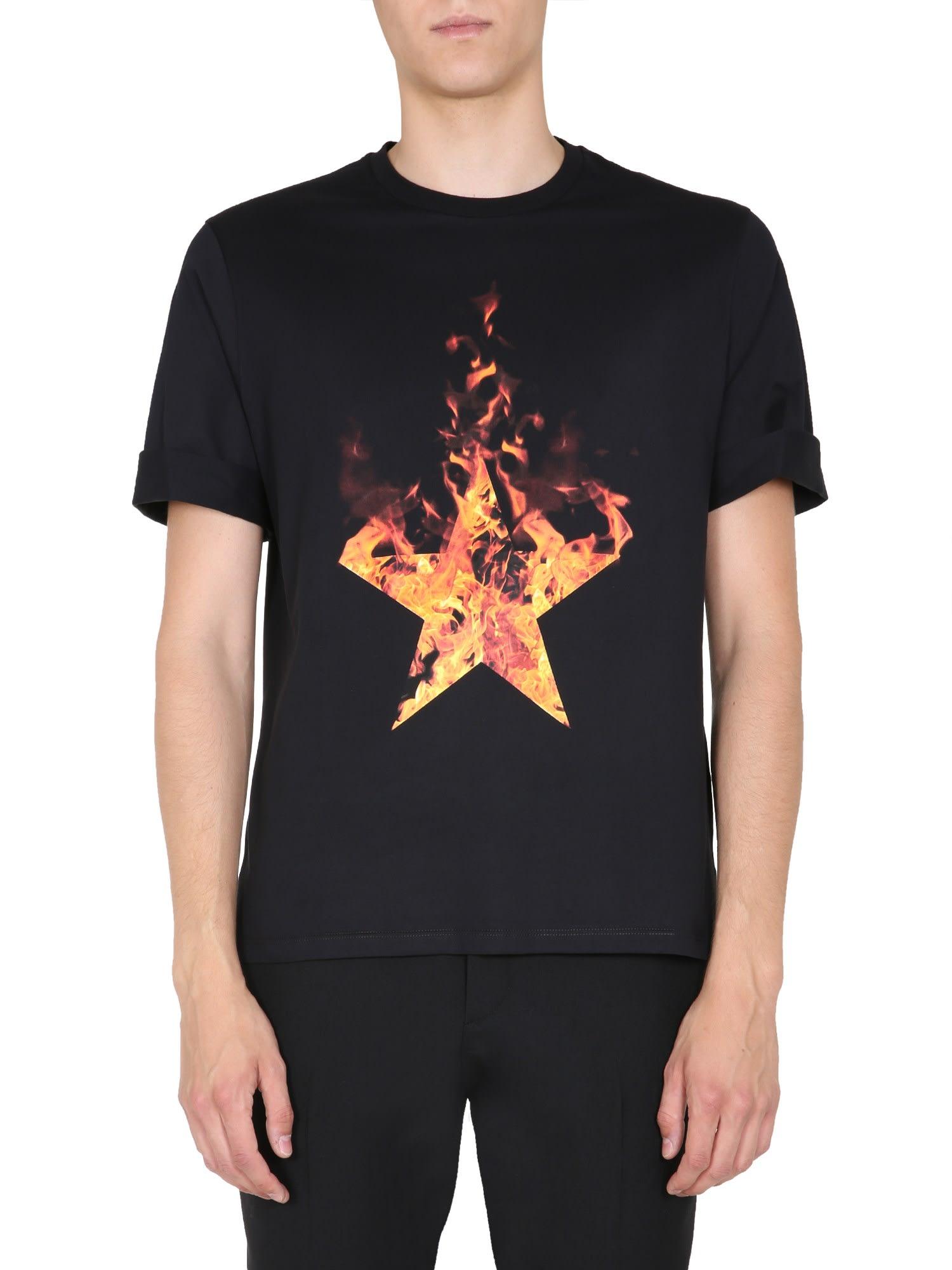 Neil Barrett Round Neck T-shirt