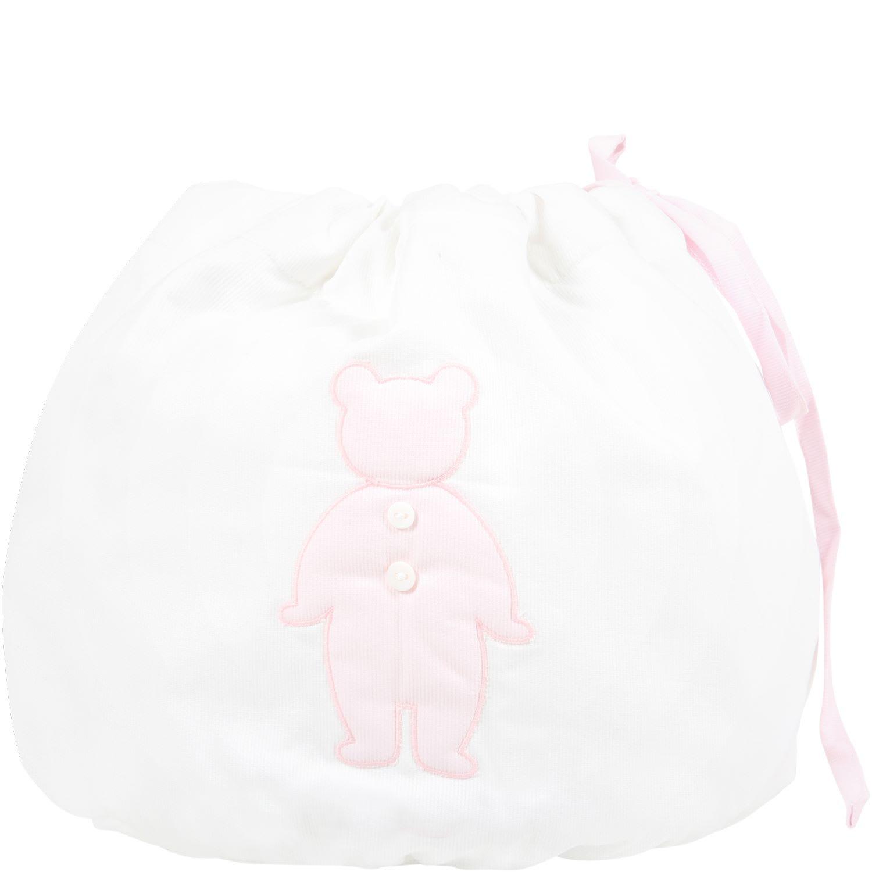 White Bag For Baby Girl
