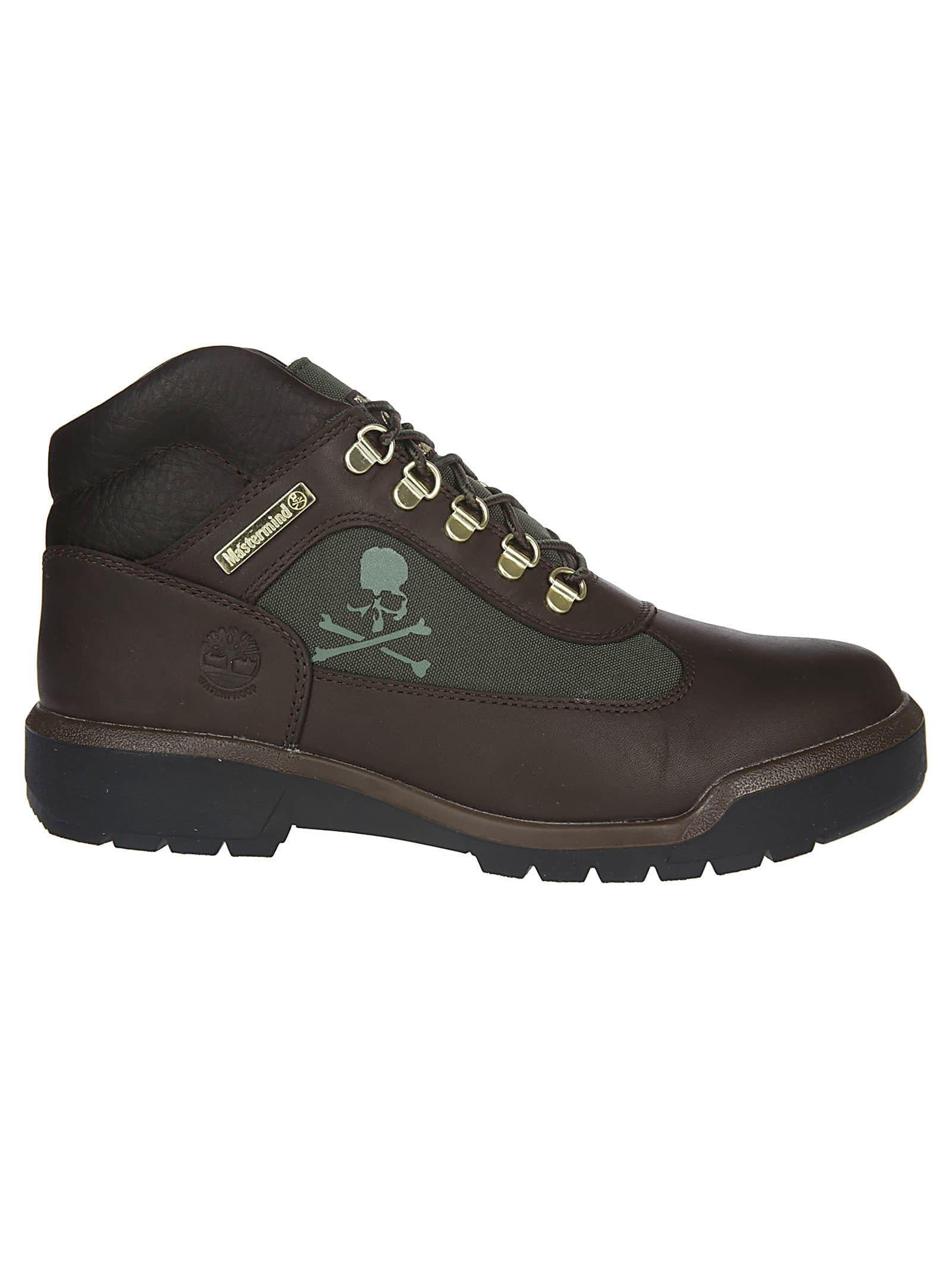 MASTERMIND WORLD Skull Logo Hiking Boots