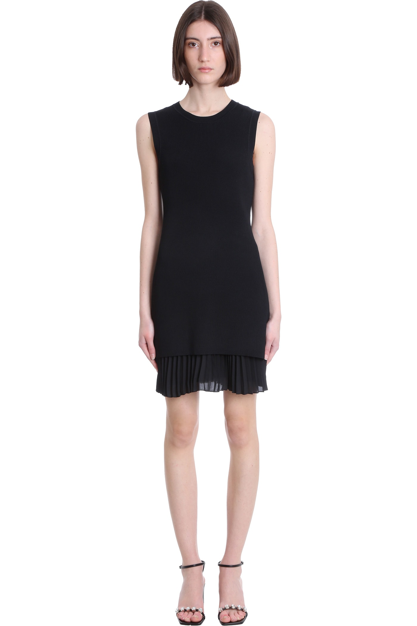 Theory Dress In Black Polyester