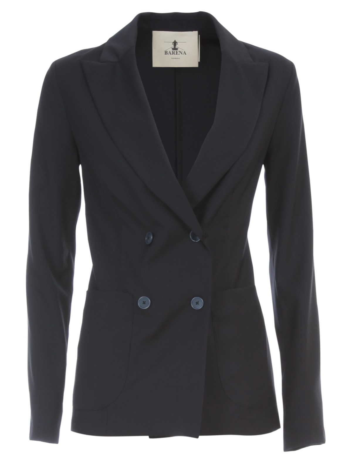 Barena Dalia Fitted Double Breasted Jacket