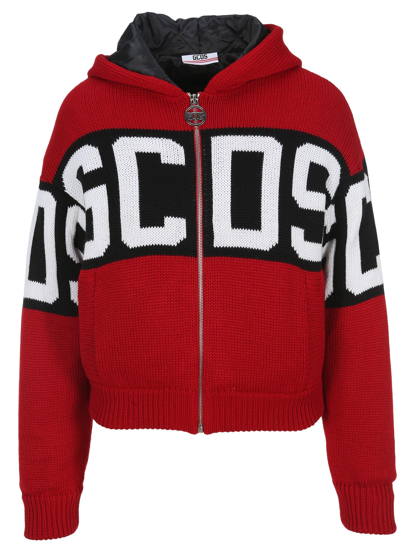 Gcds Knit Padded Jacket