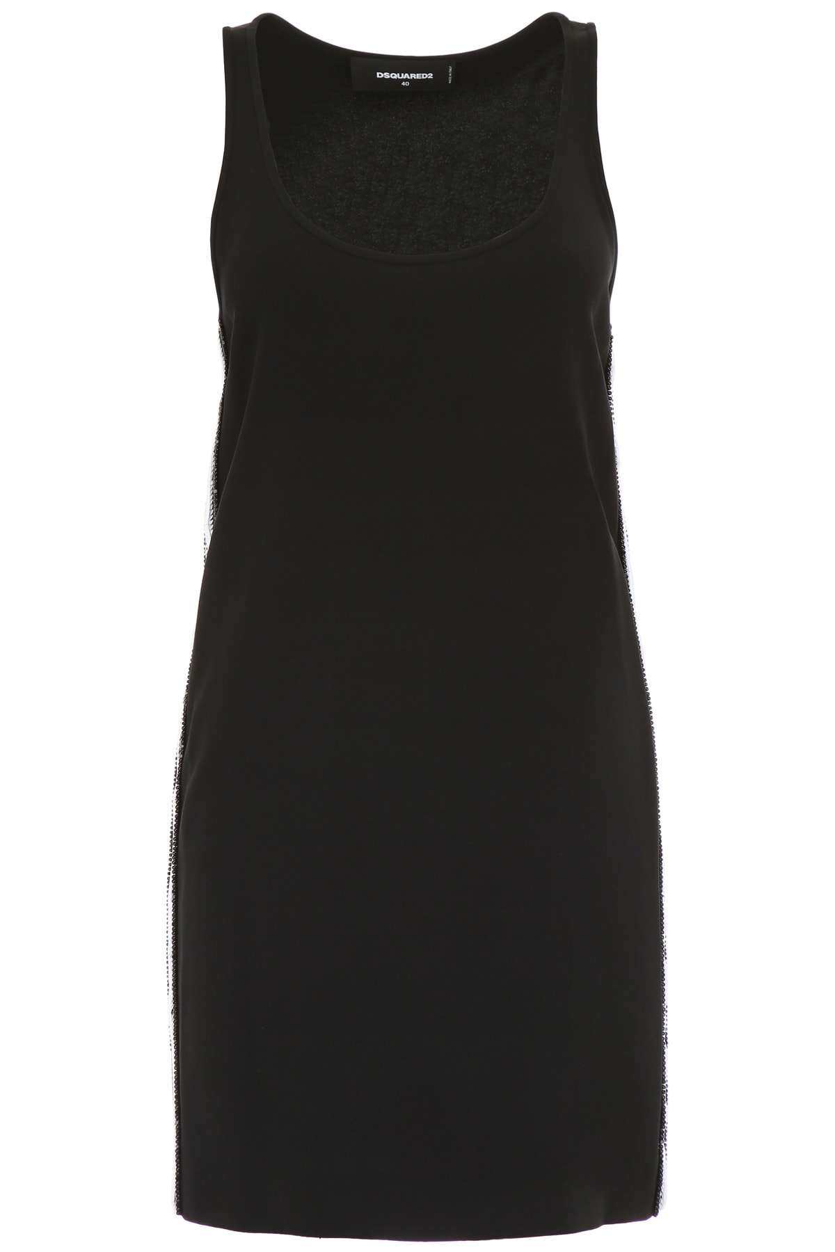 Photo of  Dsquared2 Disco Sporty Tank Dress- shop Dsquared2  online sales