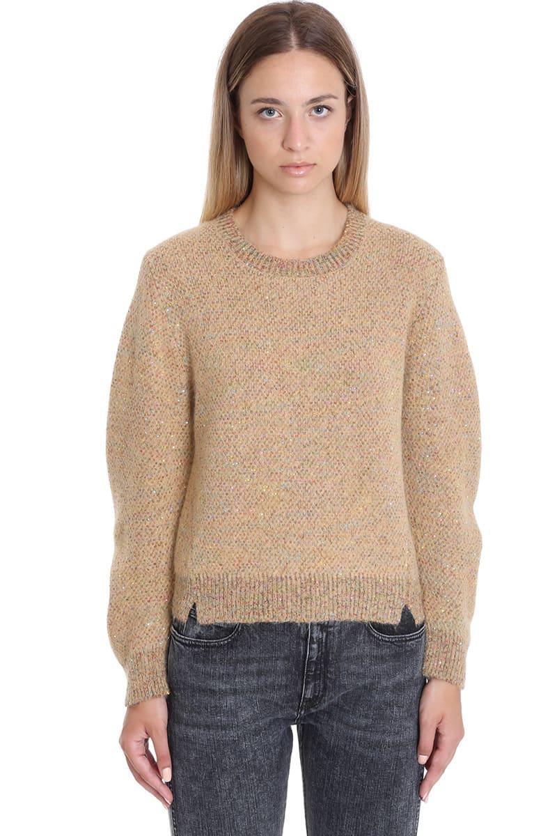 Stella McCartney Knitwear In Beige Wool
