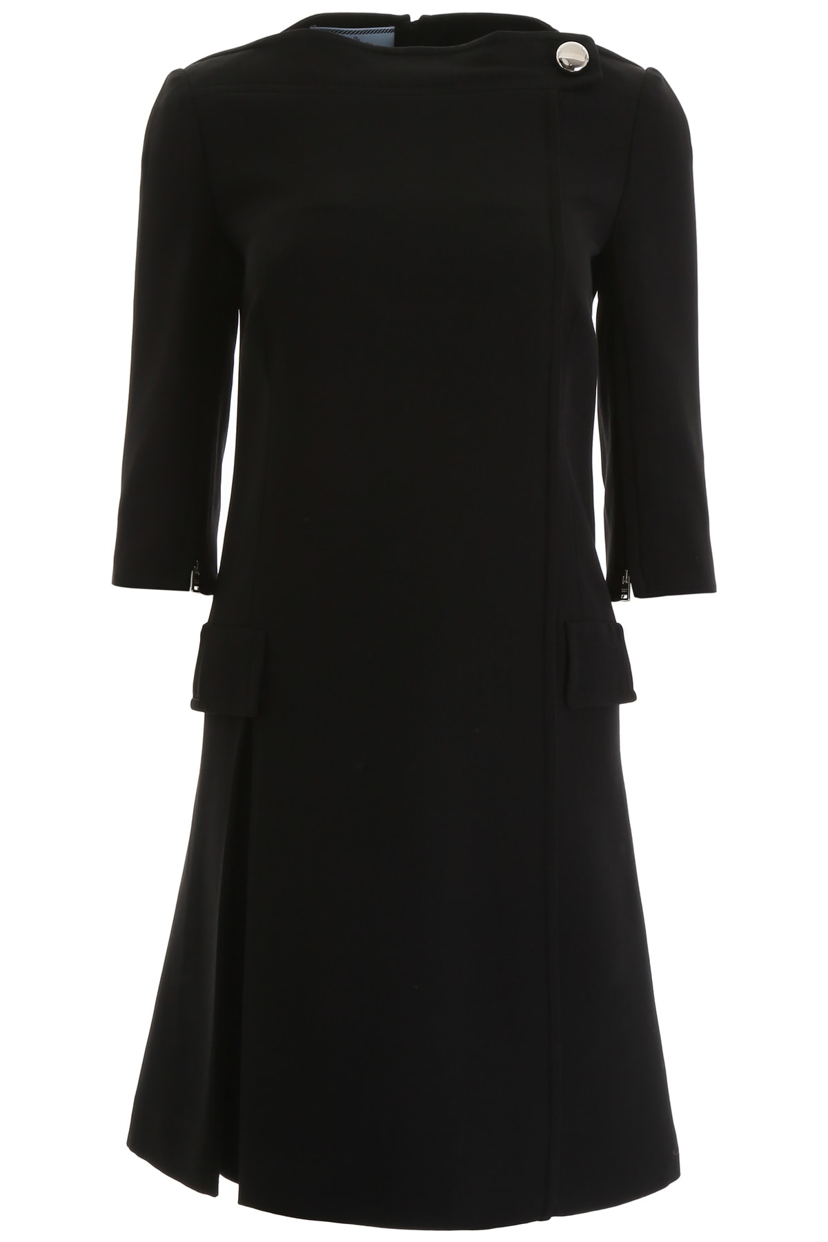 Buy Prada Cady Dress online, shop Prada with free shipping