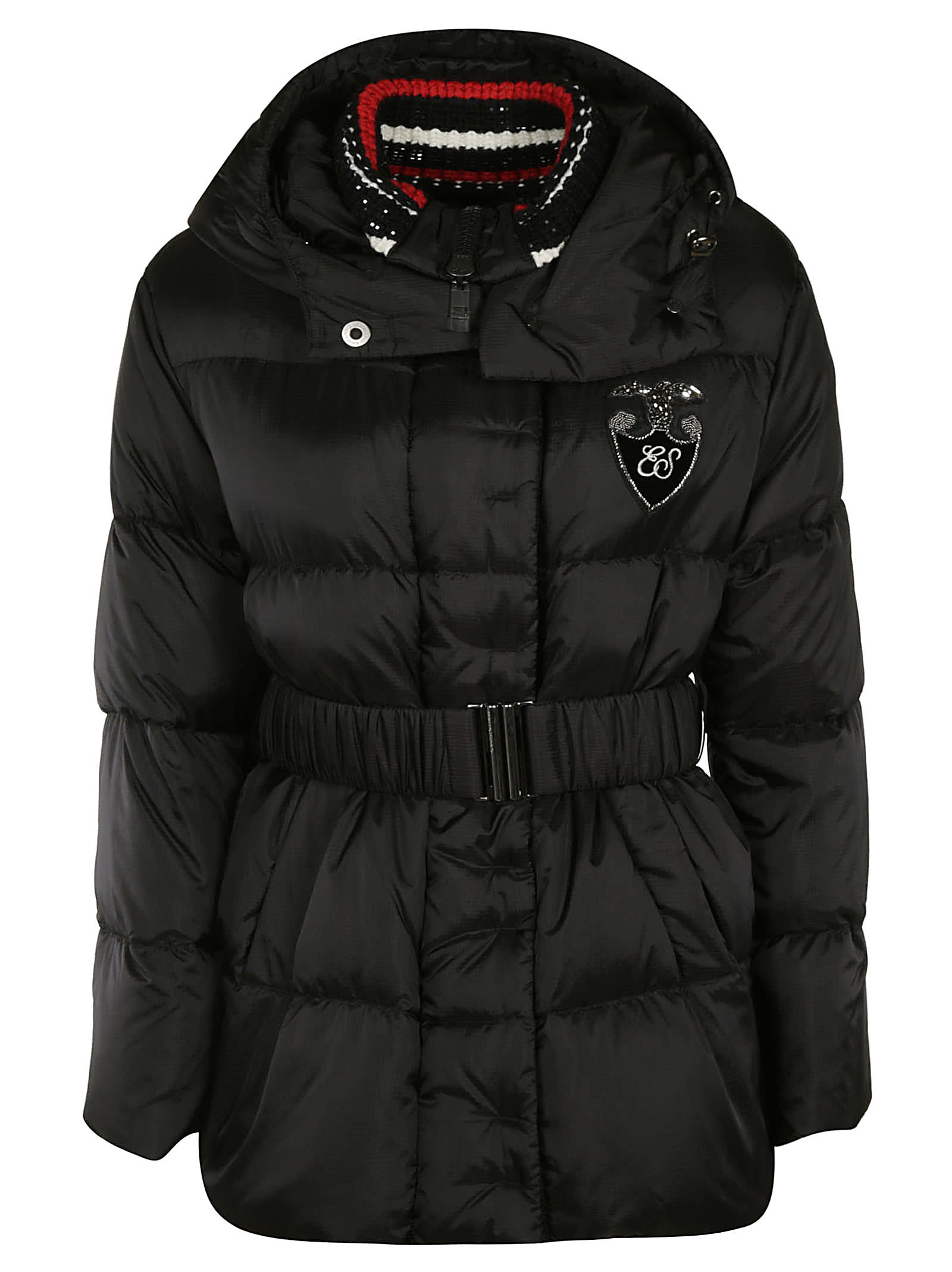 Ermanno Scervino Belted Waist Padded Jacket