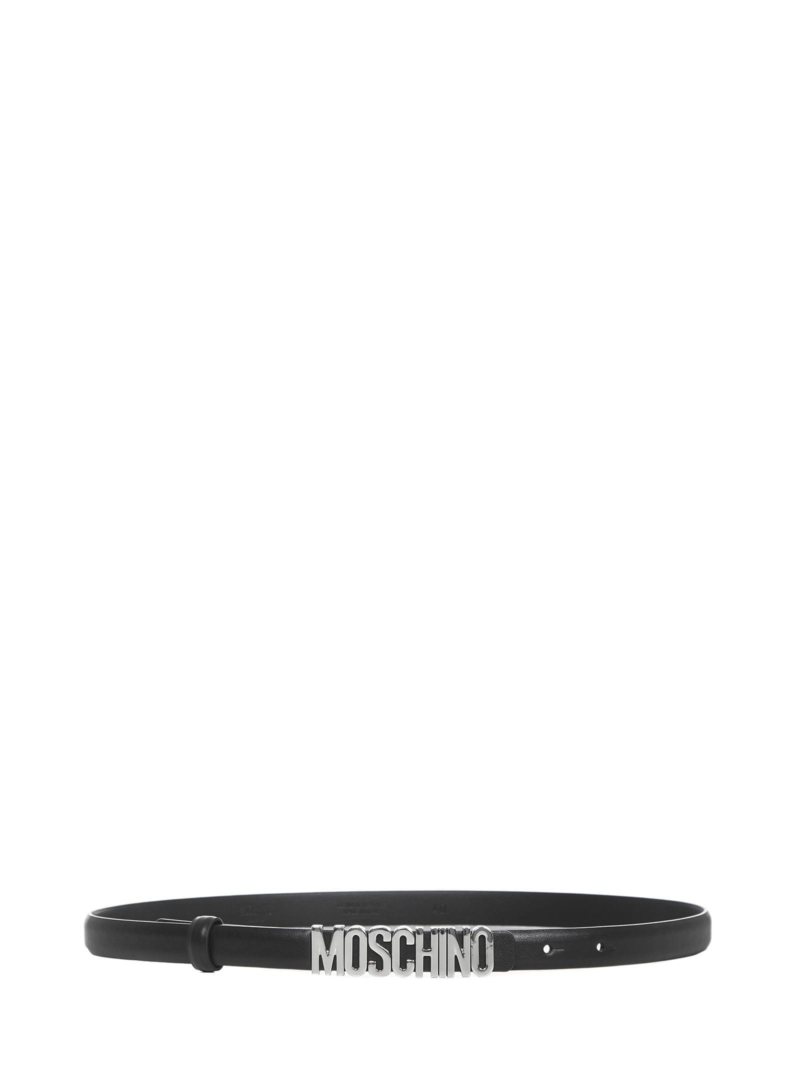 Moschino Mini Logo Belt
