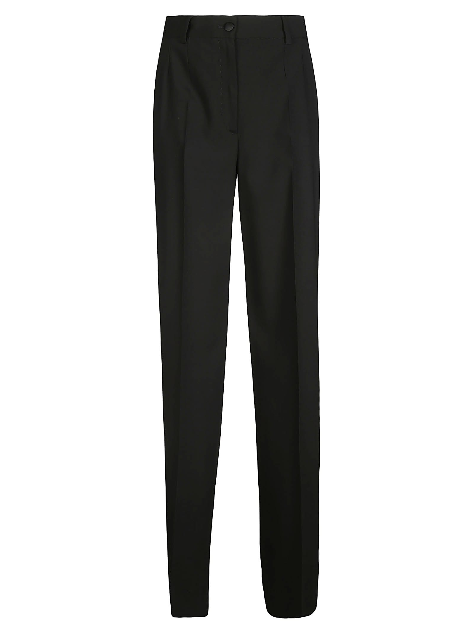 Regular Fit Plain Trousers