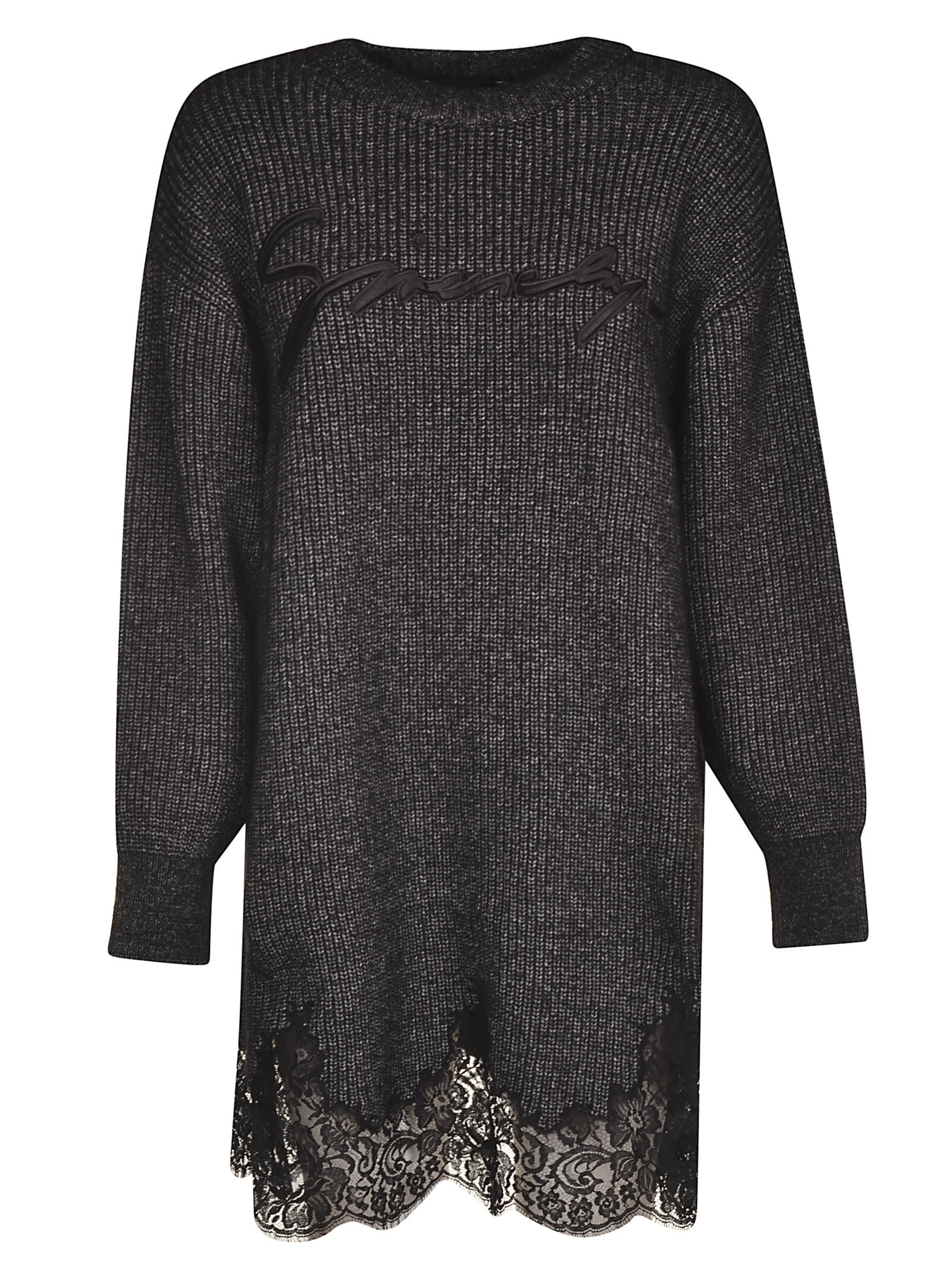 Givenchy Logo Embroidered Dress