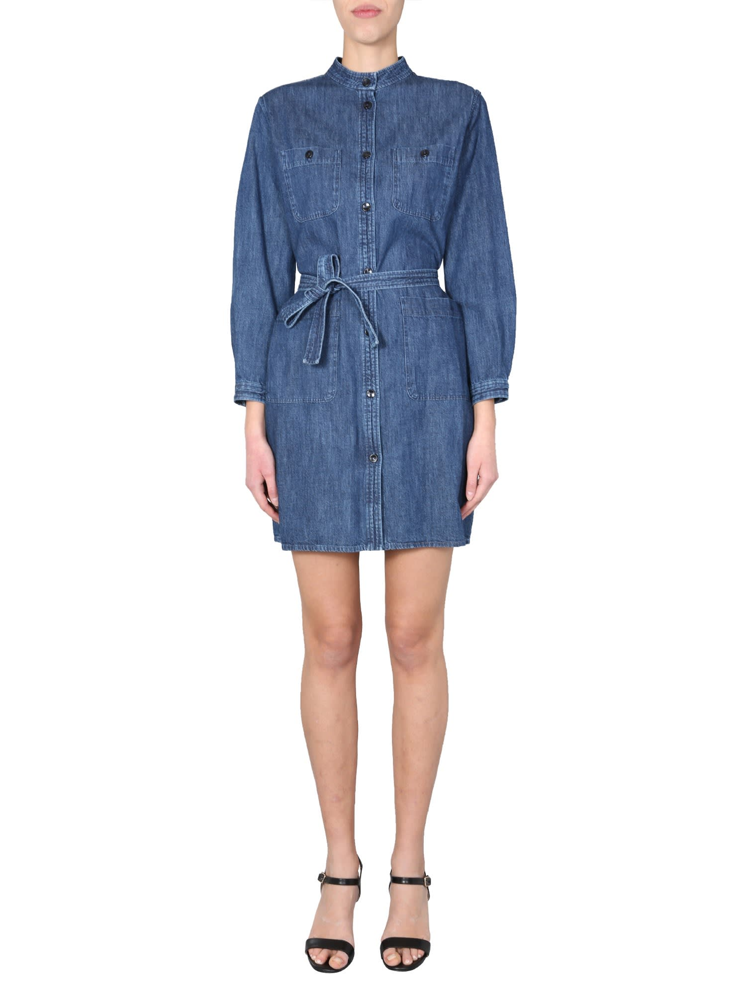 Buy A.P.C. Midi Dress online, shop A.P.C. with free shipping