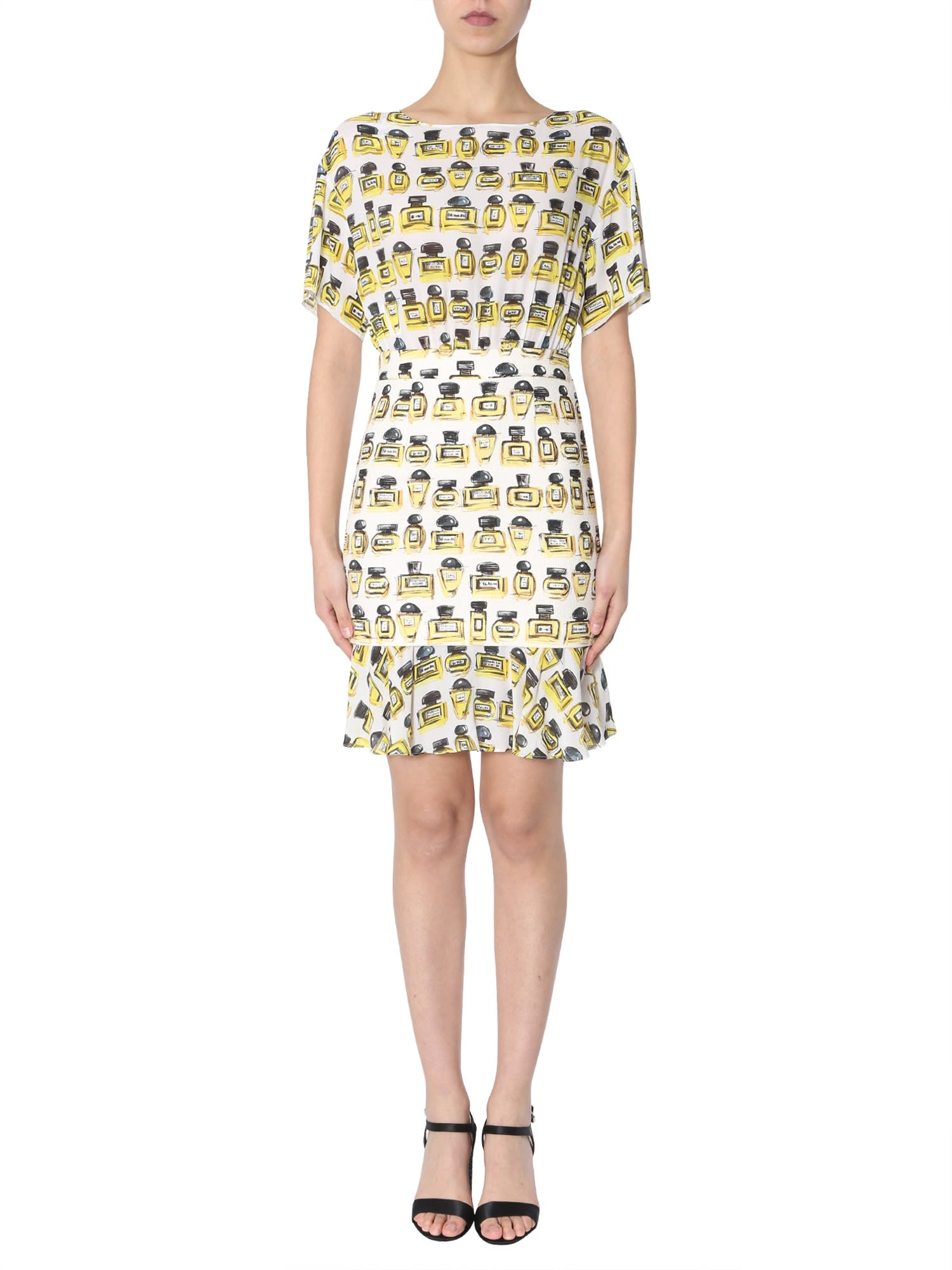 Boutique Moschino Printed Dress