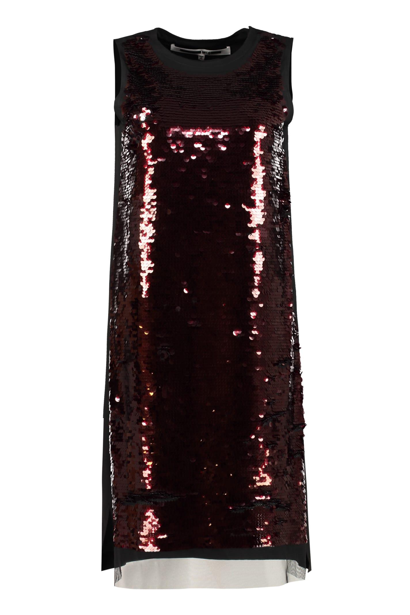 Buy McQ Alexander McQueen Sequin Dress online, shop McQ Alexander McQueen with free shipping