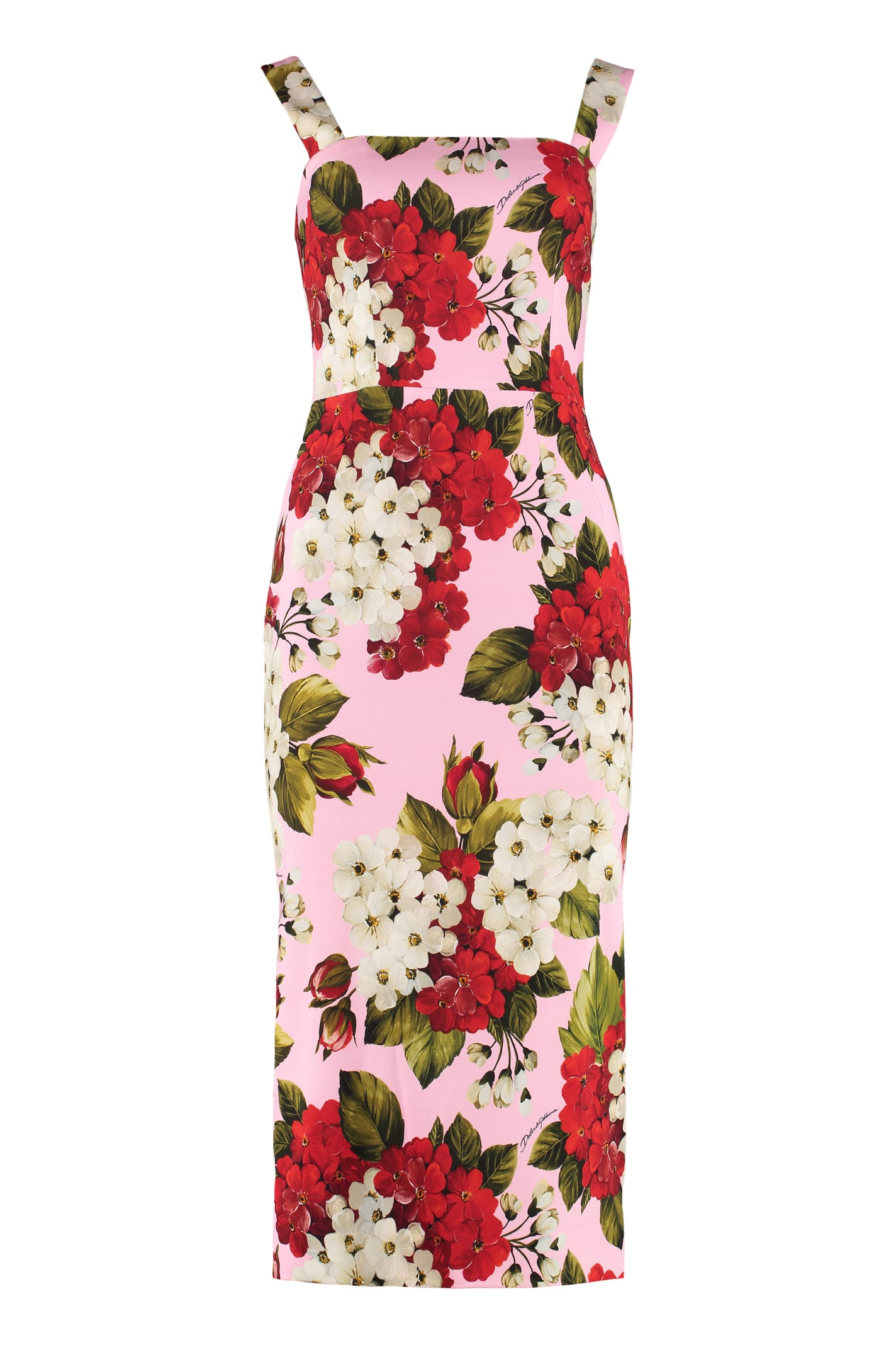 Buy Dolce & Gabbana Crepe Cady Dress online, shop Dolce & Gabbana with free shipping