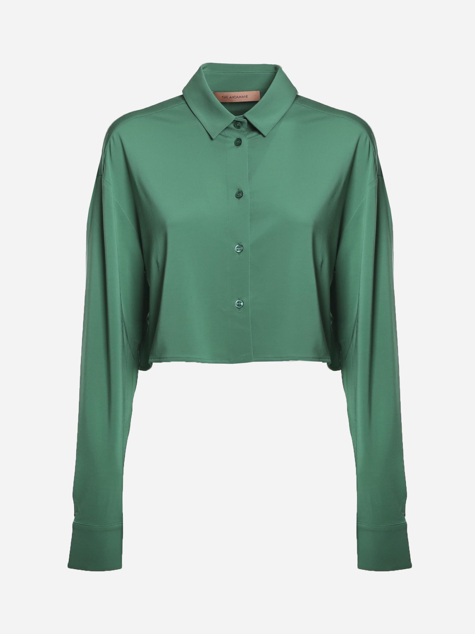 Georgina Crop Shirt
