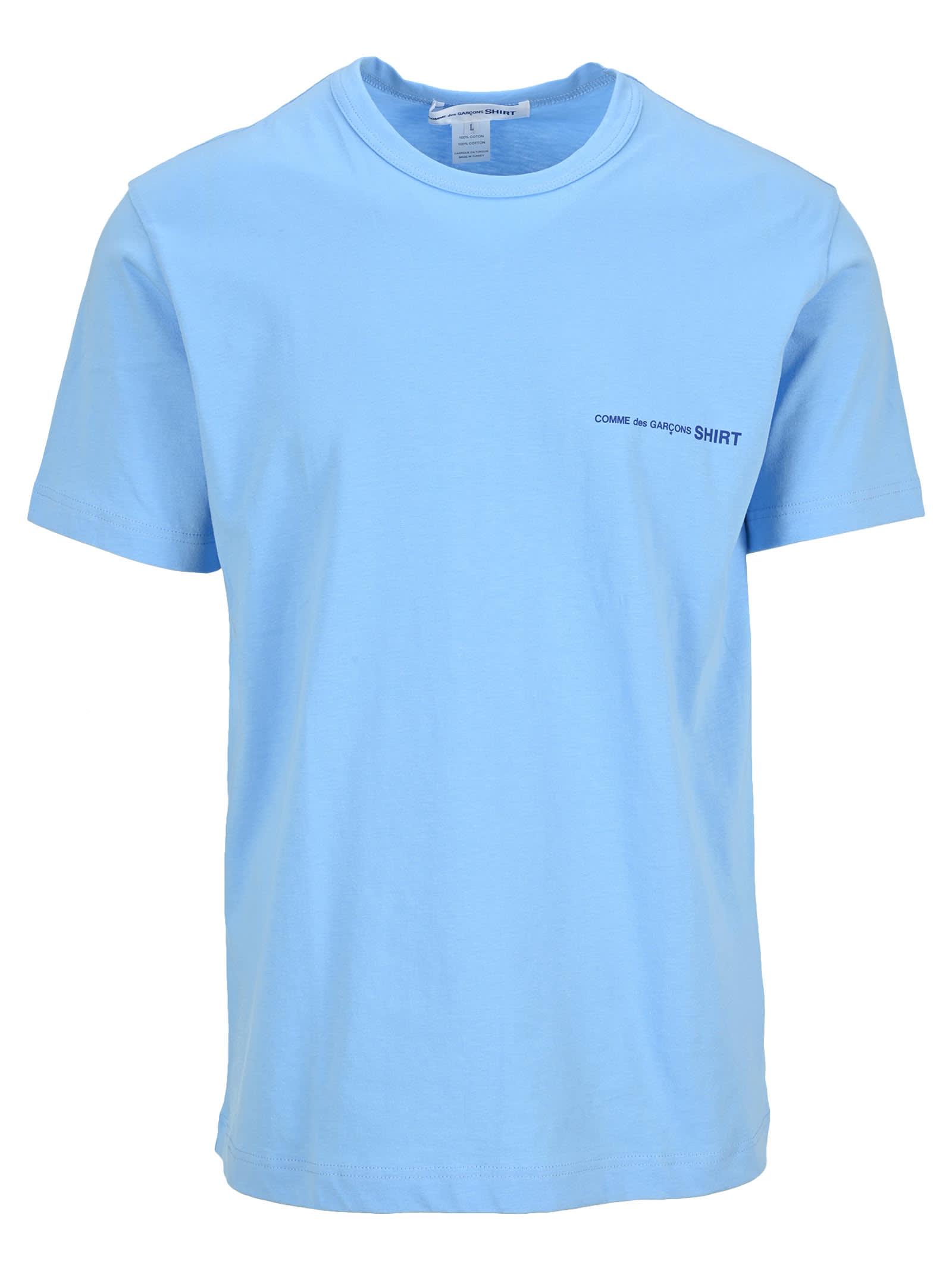Comme Des Garçons Shirt Cottons COMME DES GARÇONS SHIRT LOGO PRINT T-SHIRT
